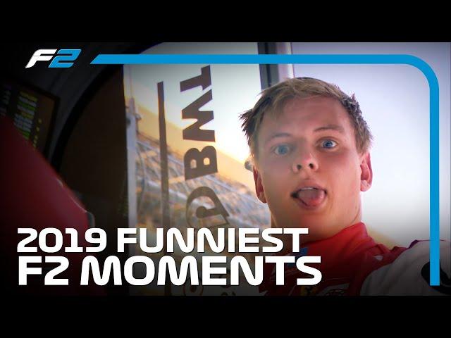 F2 Funnies!   2019 FIA Formula 2 Season