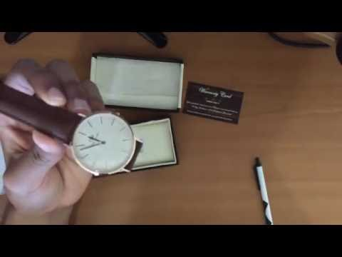 fa630f768726d9 Unboxing *fake* Daniel Wellington St Mawes 40MM from Amazon - YouTube