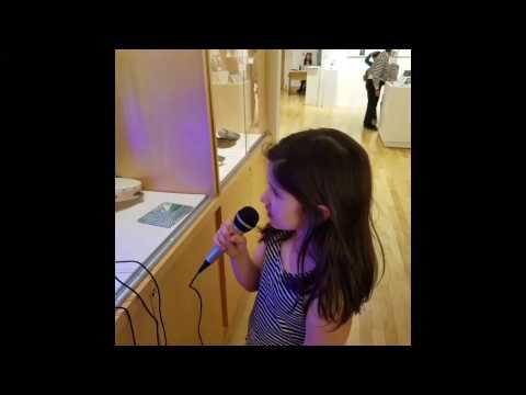 Stella Karaoke with SERIOUS backup Tambourine.