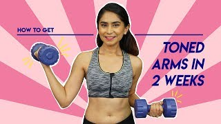 Easy Arm Workout for Beginners Using Dumbbell | Hauterfly