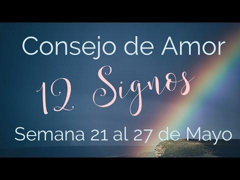 Horóscopo Semanal 21 al 27 de Mayo | 12 Signos + Suerte