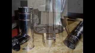 видео Система отвода выхлопных газов из генераторной установки
