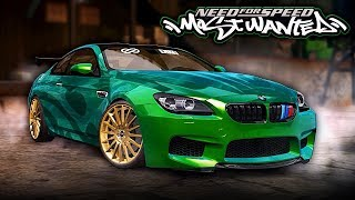 NFS Most Wanted | BMW M6 Mod Gameplay [1440p60]
