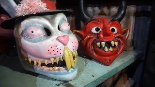 Как ритуальные маски решают проблемы жителей Коста-Рики?