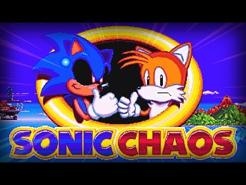 SONIC.EXE SHOWS OFF HIS TRUE POWER!!   Sonic Chaos .EXE