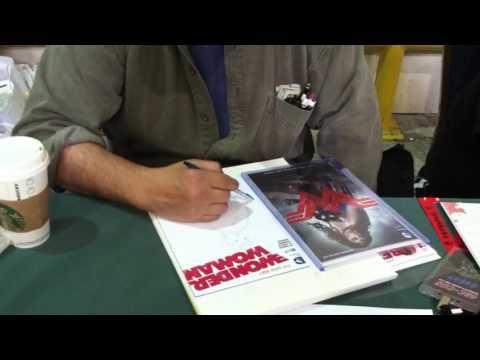 Tim Vigil draws Wonder Woman at SAC CON '16 (Pt. 1)