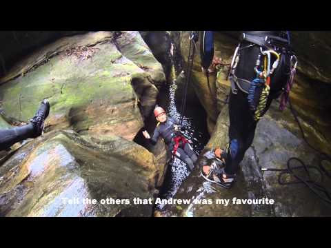 Canyoning Serendipity - Blue Mountains, NSW, Australia