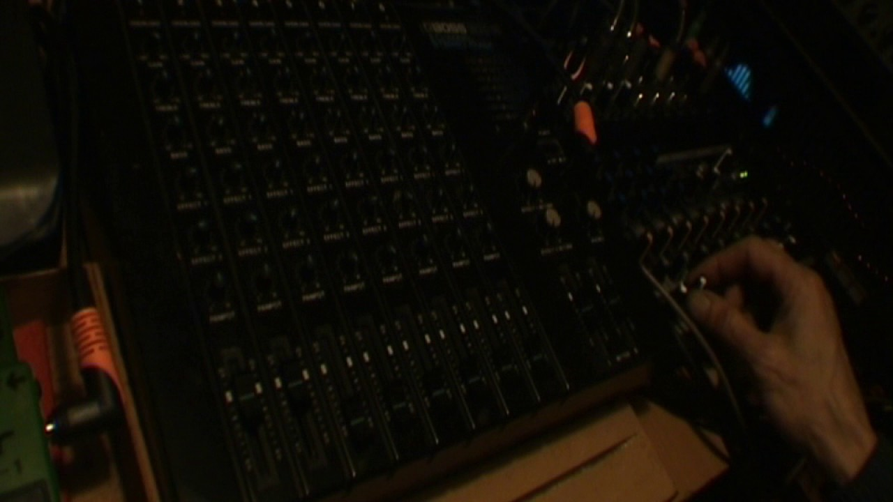 Boss BX-8 mixer + Boss ACE-120 power supply