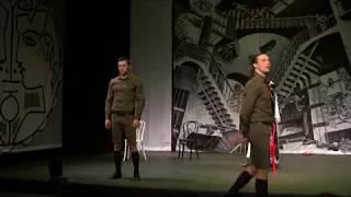 Сцены из спектакля Евгения Понасенкова «Немецкая сага» 2007 г !