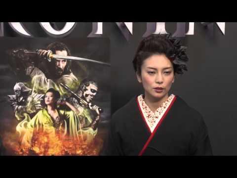 Ko Shibasaki &  Jin Akanishi Interview   47 Ronin