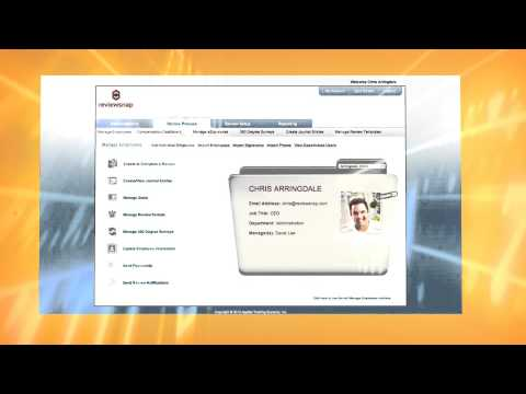 Reviewsnap Performance Management System Demo Video