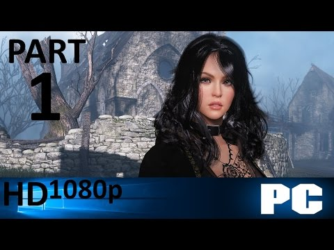Black Desert Walkthrough PART 1 [PC] Witch Gameplay No Commentary @1080p HD ✔