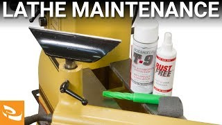 How to Maintain your Woodturning Lathe