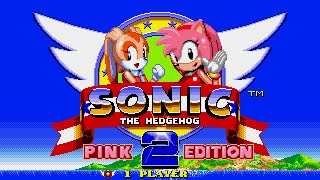 Sonic the Hedgehog 2-Pink Editon[Cream the Rabbit run]