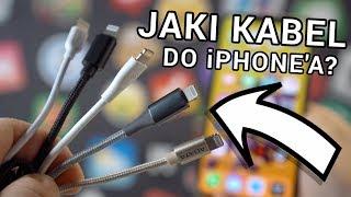 NAJLEPSZE KABLE Lightning do iPhone'a❗️| Który wybrać?