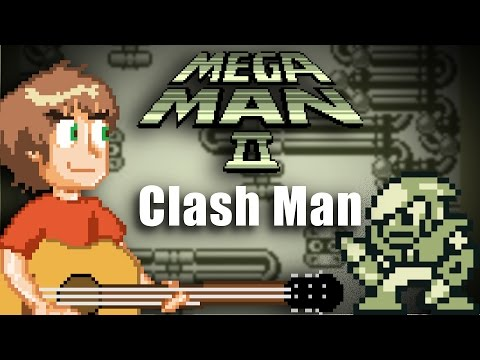 Mega Man II (GB): Clash Man Band cover by Steven Morris