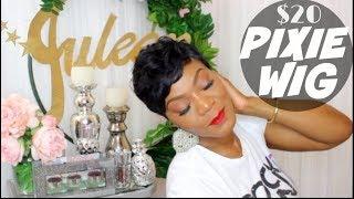Pixie Wig Nuna | Short wig cut & styled | Juleen Forbes