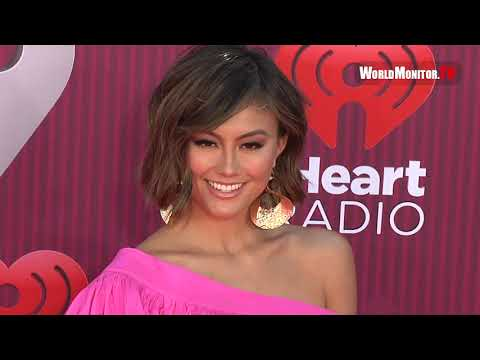 Agnez Mo Arrives At 2019 IHeartRadio Music Awards Red Carpet