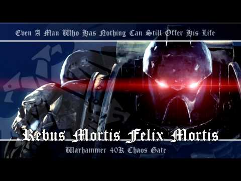 Chaos Gate OST #004 - Rebus Mortis Felix Mortis | Warhammer 40K Soundtrack Music