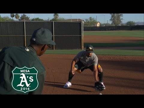 30 Clubs In 30 Days: Marcus Semien's Shortstop Position Training