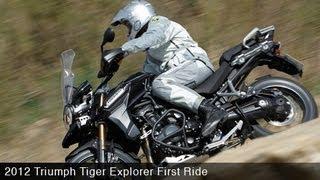 MotoUSA First Ride: 2012 Triumph Tiger Explorer