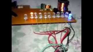 Lampu LED Berjalan dengan IC 555 dan IC 4017