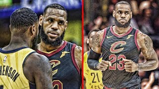 If this is what it takes for LeBron James to barely beat the Pacers then he's in trouble