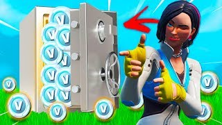 NOUVEAU RETTE THE VBUCKS in Fortnite Battle Royale