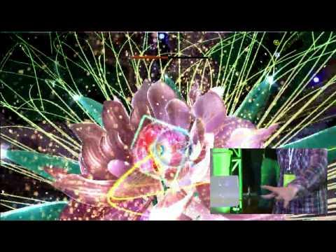 Kinect: Child of Eden - Boss Battle Gameplay