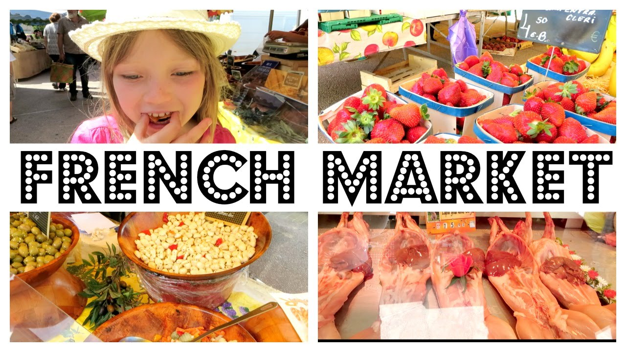 Eurostar south of france provence french food market - French provincial cuisine ...