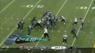 Repeat youtube video Marshawn Lynch 67-yard TD + Demetry James (Greg Jennings broken leg)
