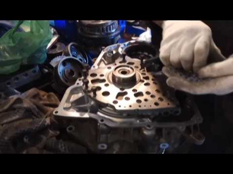 Ремонт АКПП Chevrolet Cruze Ч2 сборка