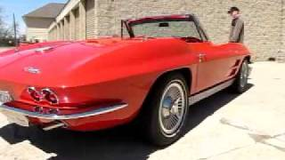 1963 Corvette for sale test run and overview, part two of three videos.