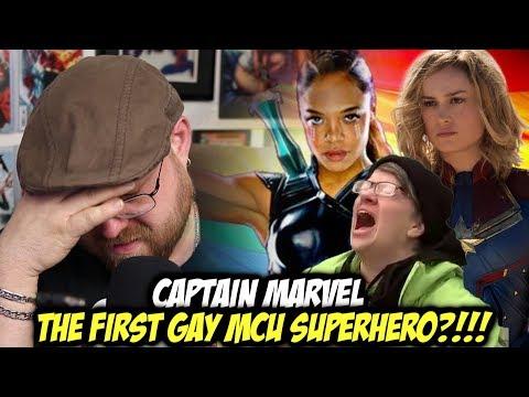 Captain Marvel.......MCU's First Gay Superhero?!!!