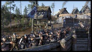 SIEGE BATTLE! Starks v Wildlings -  Game of Thrones Total War (Kings of Winter Mod)