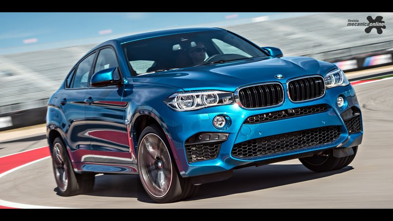 Bmw X6m Dispon 237 Vel No Brasil Youtube