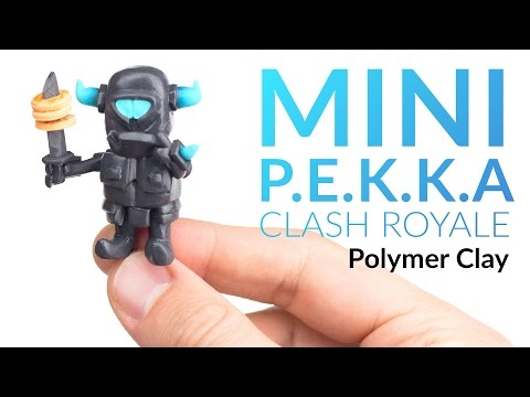 Mini P.E.K.K.A (Clash Royale) – Polymer Clay Tutorial