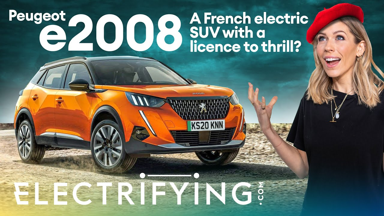 Peugeot e2008 2021 review - A French electric SUV with a licence to thrill? / Electrifying