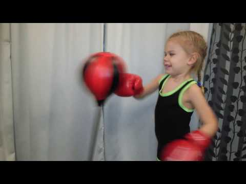 Бокс в 4 года!