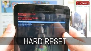 HARD RESET ASUS MEMO PAD 7 10 ANDROID FACTORY Reset FORMATEAR RESETEAR TABLET PC PASSWORD UNLOCK