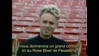 Depeche Mode 101 Rose Bowl Pasadena (Arte Summer Of The 80s trad FR)