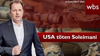 USA töten iranischen General - War das erlaubt? | Nutzerfrage XXL | Rechtsanwalt Christian Solmecke