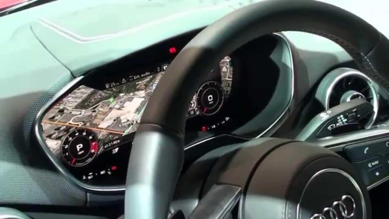 CES 2015 Nvidia Electronics in Audi TTS - YouTube
