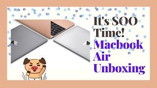 SooJaeBi Vlog #24   2020 MacBook Air UNBOXING (ft. AirPods)