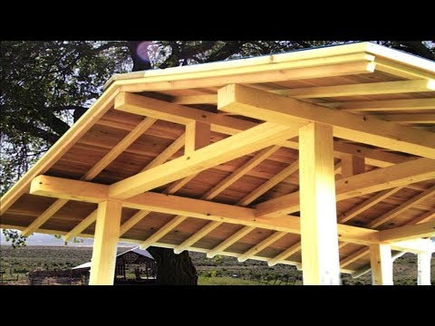 Woodworking, Japanese Joinery, Gable Board
