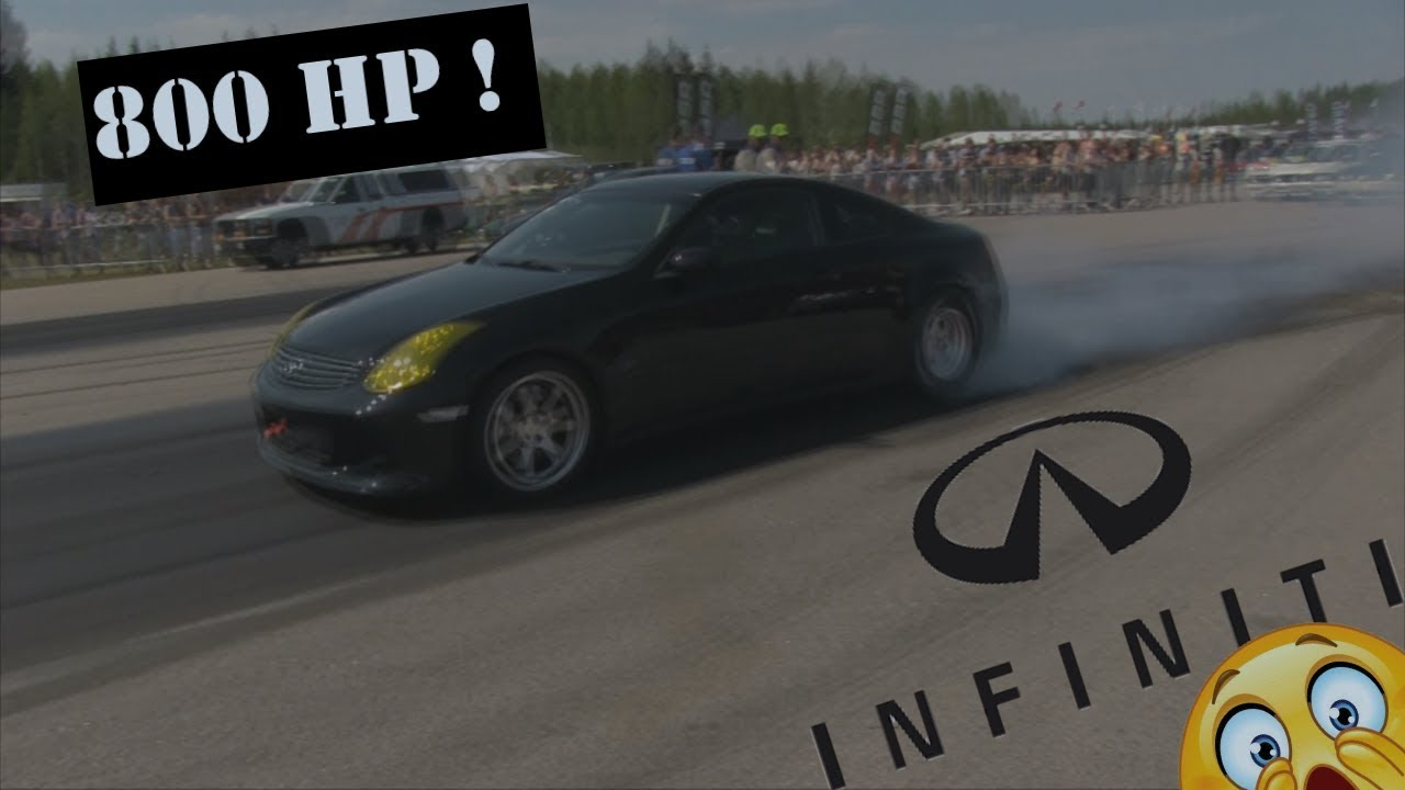 Infiniti infiniti g35 specs : 800 Hp Twin turbo Infiniti G35 Racing at EDPS 2017 - YouTube