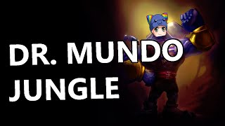 League of Legends - Dr. Mundo Jungle - Full Gameplay Commentary