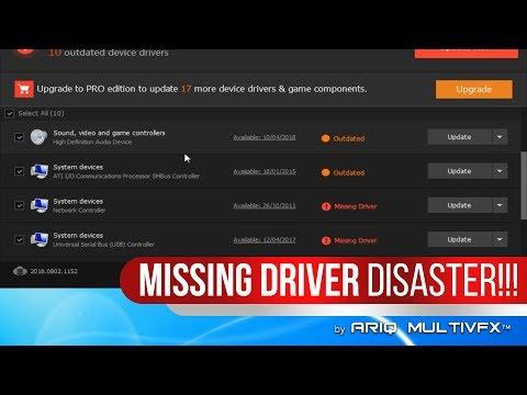 Cara Mengatasi DRIVER YANG HILANG Pada Laptop/PC. (Baca Description Untuk Detail!)