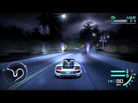 nfs carbon porsche 918 spyder weissach gameplay 720p60. Black Bedroom Furniture Sets. Home Design Ideas