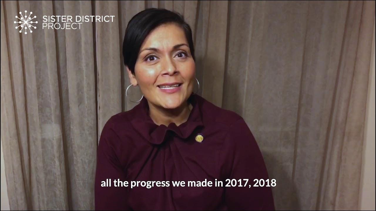 Hala Ayala Thanks Sister District